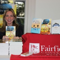 Author Emily Liebert was the featured guest at the Friends of the Fairfield Library annual board meeting