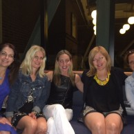 Emily Liebert with fellow authors Sarah Pekkanen, Lisa Steinke, Liz Fenton & Jen Lancaster celebrating their new books before Printers Row Lit Fest in Chicago