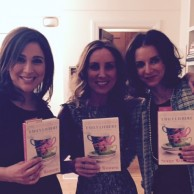 Author Emily Liebert celebrating the launch of SOME WOMEN with authors Brenda Janowitz & Jamie Brenner
