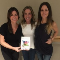 Author Emily Liebert with Anne Greenberg & Anne Epstein at the Westport launch party for SOME WOMEN