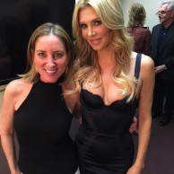 With Brandi Glanville at An Evening with the Celebrity Housewives at The Ridgefield Playhouse