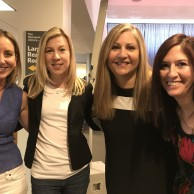 With fellow authors Hannah McKinnon, Lynne Constantine & Meredith Schorr at The Westport Library's FLEX event