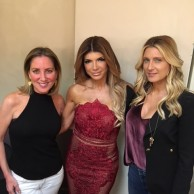 With Teresa Giudice & Andi Sklar at An Evening with the Celebrity Housewives at The Ridgefield Playhouse