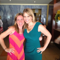 Emily Liebert with Good Morning America host Sara Haines