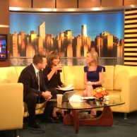 Author Emily Liebert appeared on Good Day NY with Rosanna Scotto & Greg Kelly to promote her novel You Knew Me When