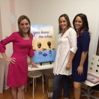 With AprilMarin co-founders April Bukofser & Marin Milio at the AprilMarin Grand Opening & You Knew Me When Book Signing event
