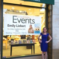 Author Emily Liebert at her You Knew Me When book signing at Barnes & Noble at The Grove in Los Angeles