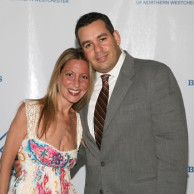 Emily Liebert & her husband, Lewis, at The Boys & Girls Club of Northern Westchester gala